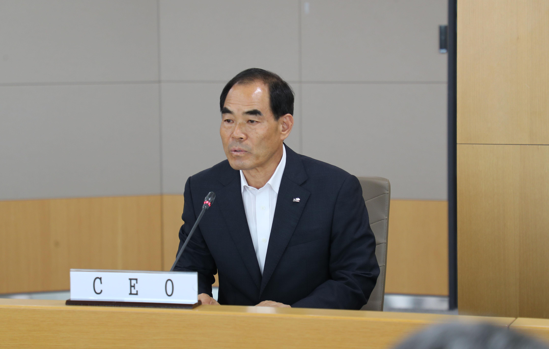 한국농어촌공사 - (사)통일농수산사업단 공동업무협약식 가져 - 4